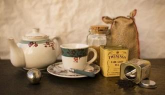 anglický čaj