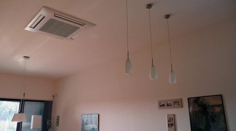 klimatizace v bytě