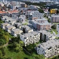 Byty u parku Na Vackově od společnosti Metrostav Development