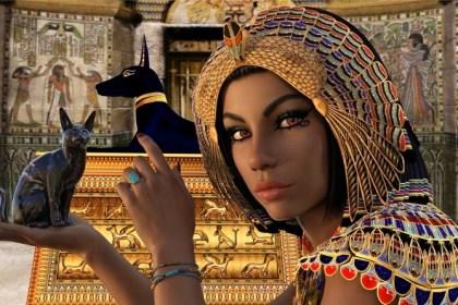starý egypt - žena