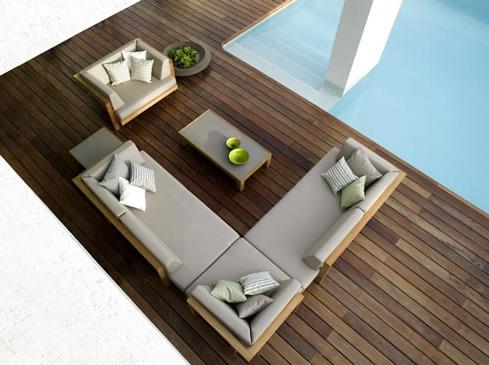 Nezha Kanouni Tribu outdoor furniture collection
