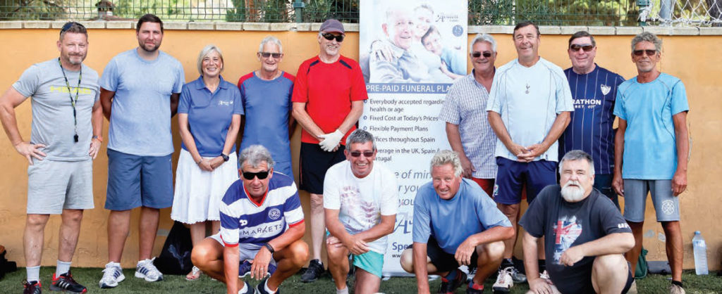CELEBRITY LAUNCH OF WALKING FOOTBALL IN MARBELLA Home & Lifestyle
