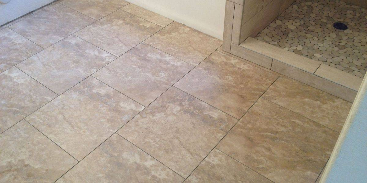 filling gaps between the tile and wall