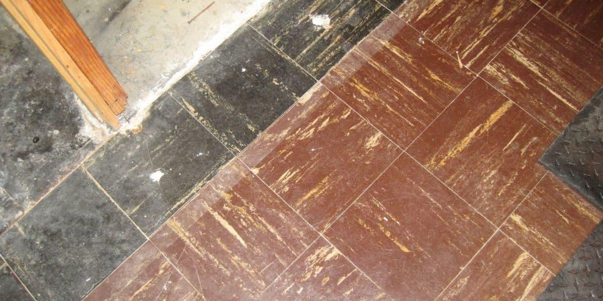 can you place carpet over an asbestos