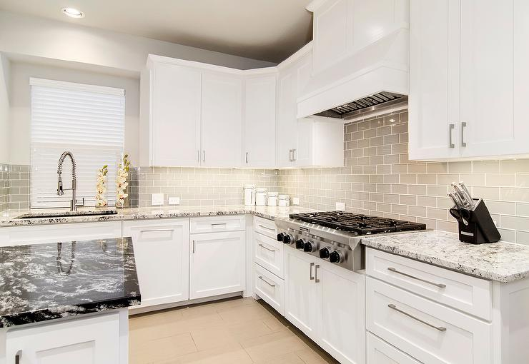 kitchen cabinets color combination makeovers ideas white shaker discount [trendy] in queens ny