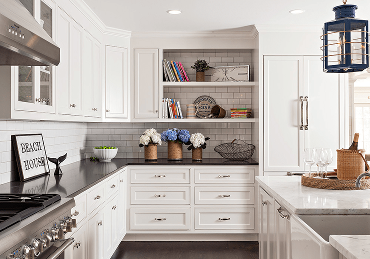 shaker kitchen cabinets utensil rack white discount trendy in queens ny for sale home art tile and bath