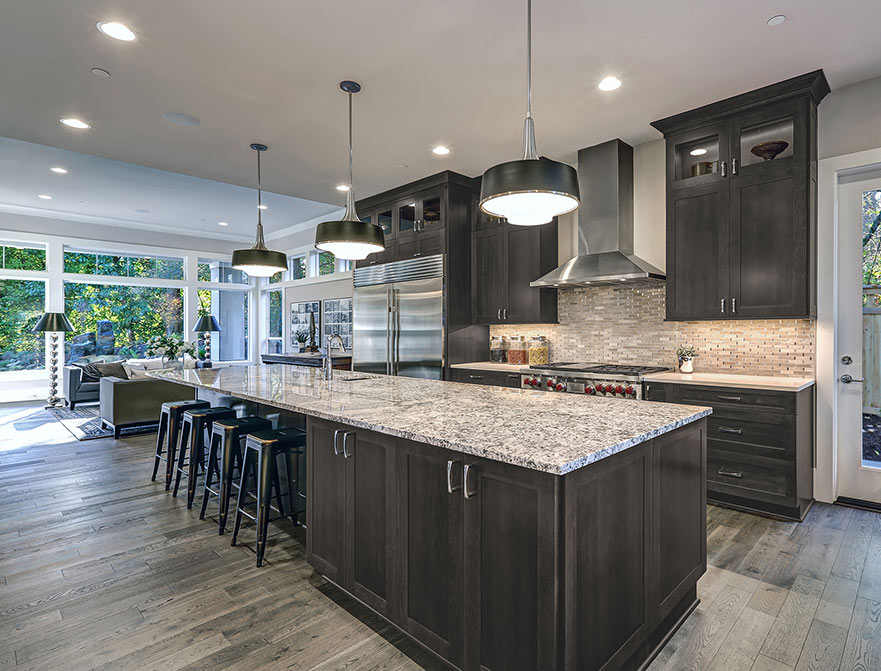 gray kitchen cabinets bench seating with storage best selection in ny ultimate guide home art tile and bath
