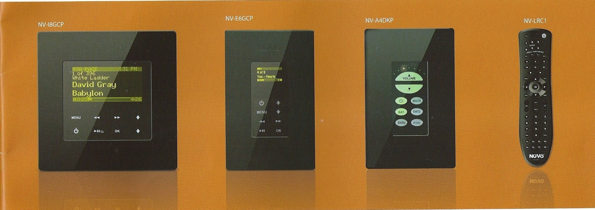 hight resolution of nuvo keypads