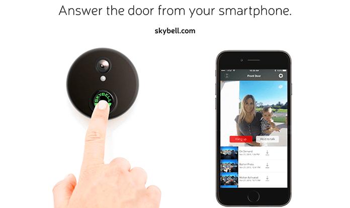 skybell-hd-doorbell app