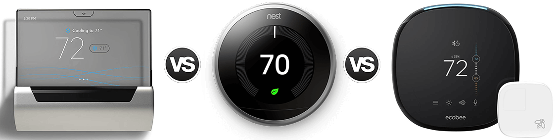 GLAS, Ecobee4 & Nest Learning: Which is the smartest thermostat?