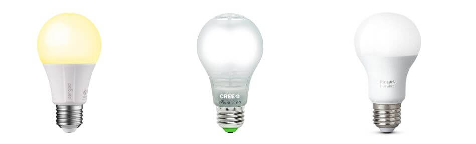 Philips Hue White vs Cree connected vs Sengled Element