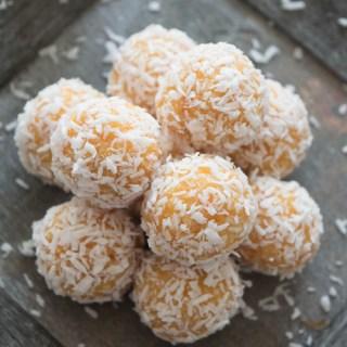 Apricot Coconut Bites