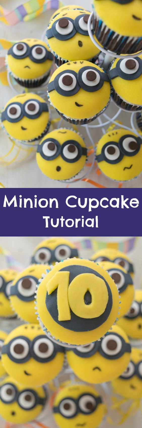 Minion cupcakes home baked bliss these are easier to make than you might think baditri Image collections