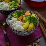 Easy Sweet Potato Curry (vegan)