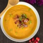 Sweet Potato, Carrot and Leek Soup