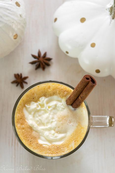 Coconut Pumpkin Spice Latte