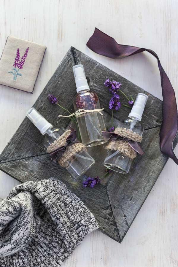 lavender linen spray, linen spray, essential oil spray, essential oil linen spray, diy linen spray, diy essential oil spray, lavender spray, diy lavender