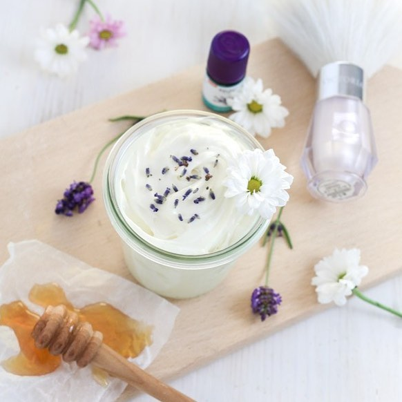 Honey Lavender Body Butter loving this homemade body butter ashellip