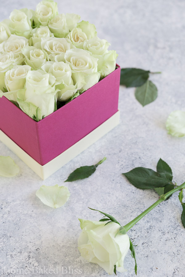 diy flower box, diy Instagram flower box, Instagram flower box, how to make a flower box, diy rose box, rose box