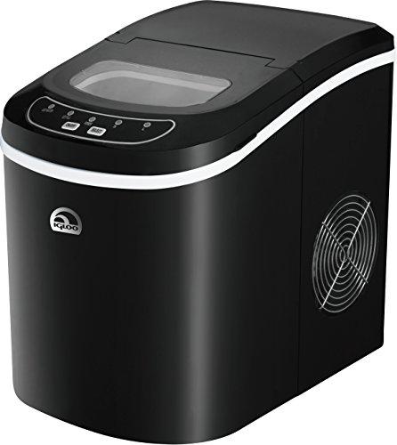 Igloo ICE101-Black Counter Top Ice Maker, Black