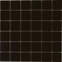 Onyx Black Matt Mosaic Tiles - 300 x 300mm