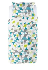 Geometric Design Bedding | Homebase.co.uk