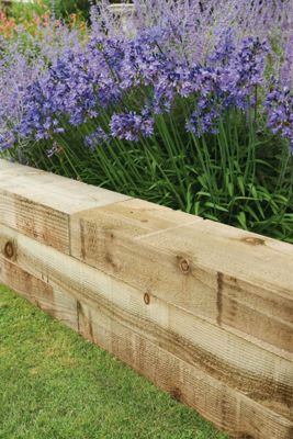 Forest Non Creosote Railway Sleeper 4ft