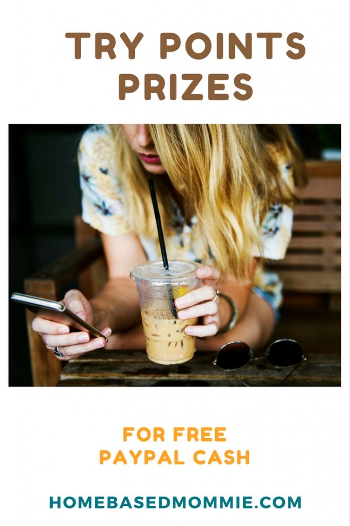 Try Points Prizes for free PayPal Cash -