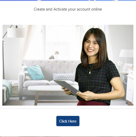 Step 1 for Creating a Pag-IBIG Account Online