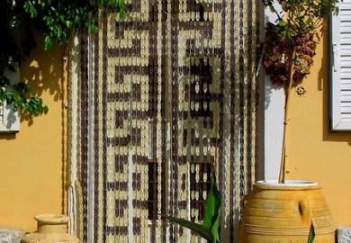 Doorway Curtains Kitchen