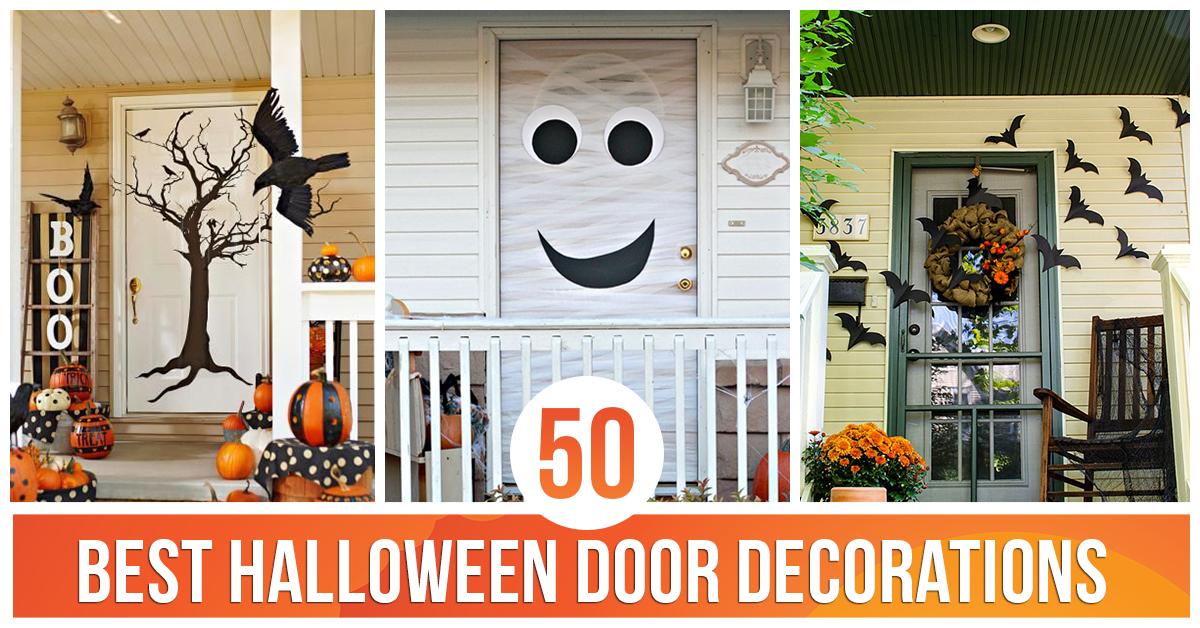 50 Best Halloween Door Decorations for 2016