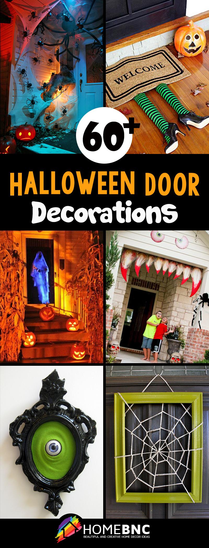 50 Best Halloween Door Decorations for 2018