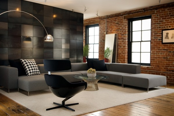 modern loft living room 50 Best Living Room Design Ideas for 2019