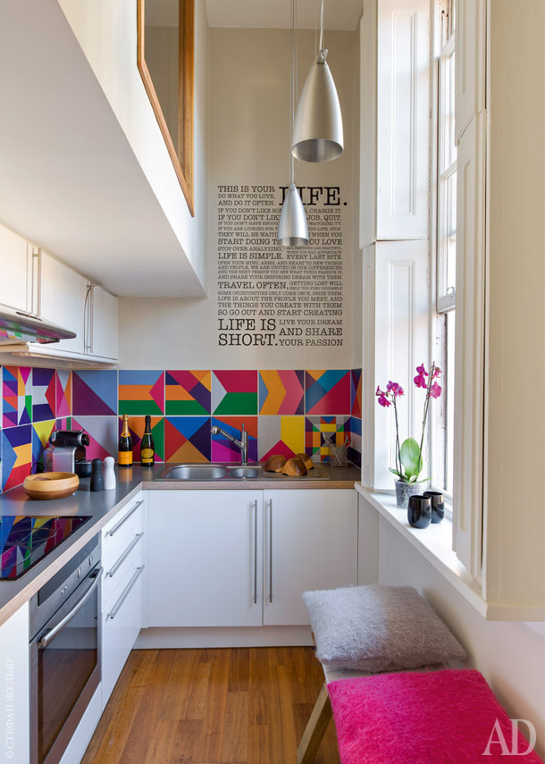 small space kitchen utensil organizer 50 best ideas and designs for 2019 a very narrow becomes larger than life with bright hues