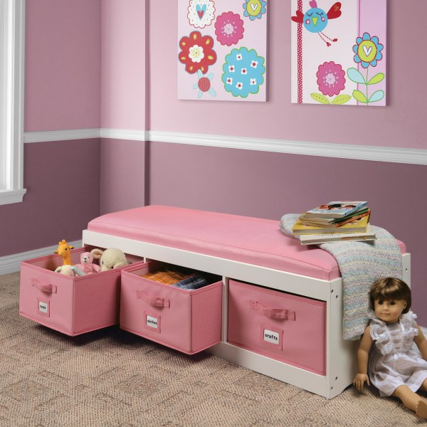 Toy Room Storage Ideas for Girls