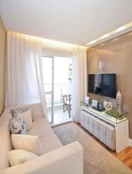 living room luxury sala tv apartment decorating space tiny decor spaces designs very mellow pequena salas apartamento para pequenas estar