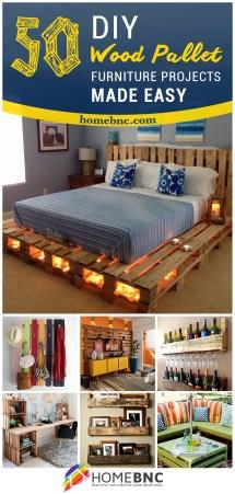 Creative Pallet Furniture Design Ideas 2019