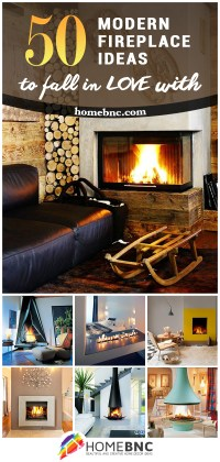 50 Best Modern Fireplace Designs and Ideas for 2018