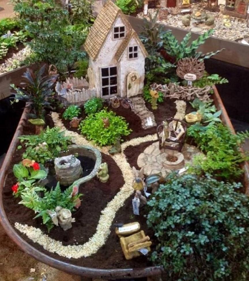 Fairy Garden Ideas: Fire Up The Grill, Guys