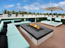 Rooftop Deck Fire Pit Ideas