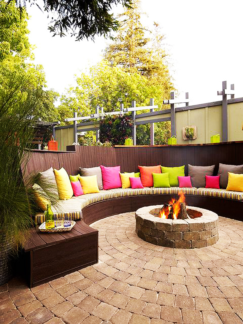 50 best outdoor fire pit design ideas
