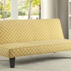 Sleeper Sofa Best With Cup Holders 25 Beds To Buy In 2019 Perfectchoice Living Room Simple Adjustable Futon Bed Trellis Pattern Fabric Color Mustard