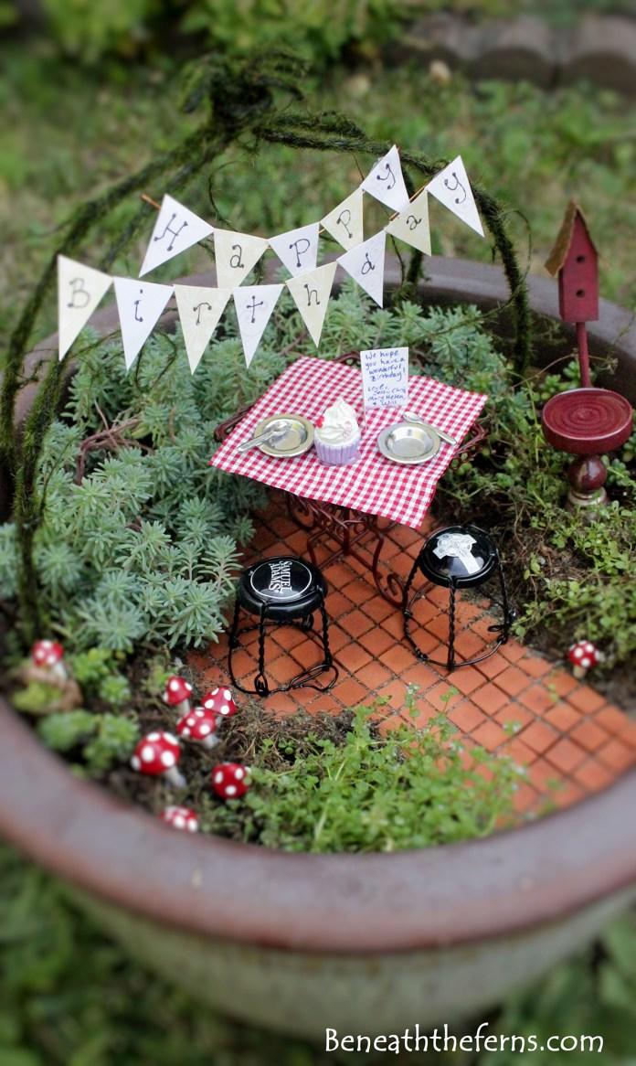 Fairy Garden Ideas: Have a good one mommy fairy garden