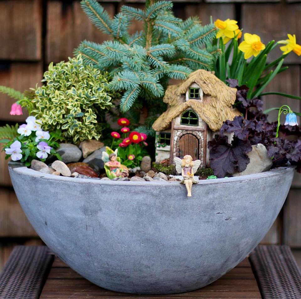 Fairy garden ideas: Getting back to nature fairy garden