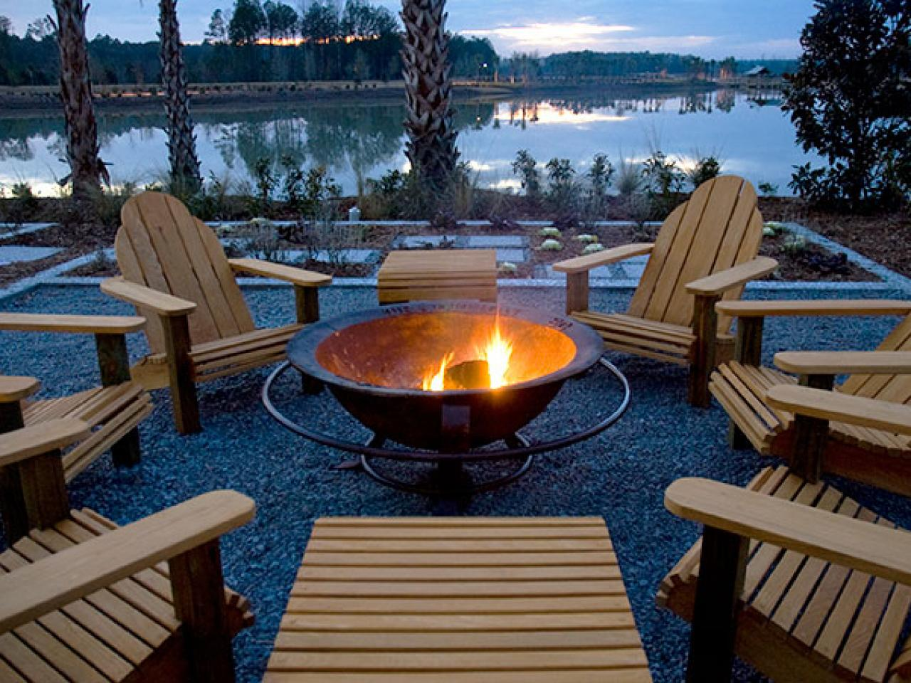 Chairs Around Fire Pit 50 Best Outdoor Fire Pit Design Ideas For 2019