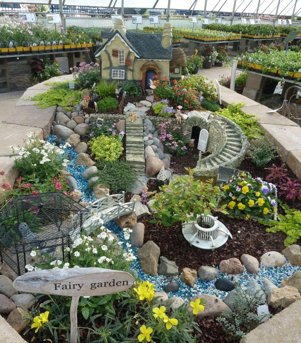 Fairy garden ideas: A fairy wonderland