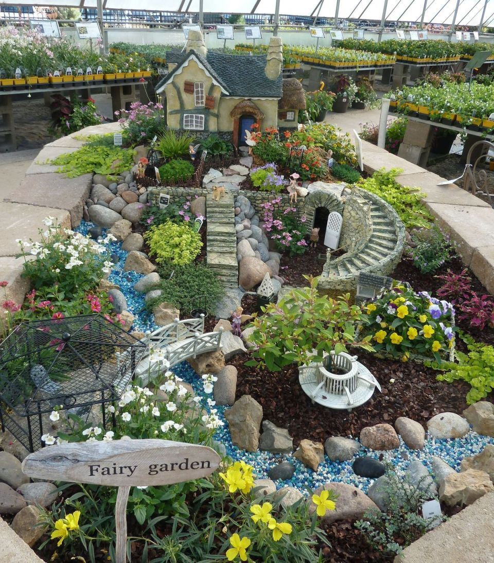 Fairy garden ideas: A fairy wonderland