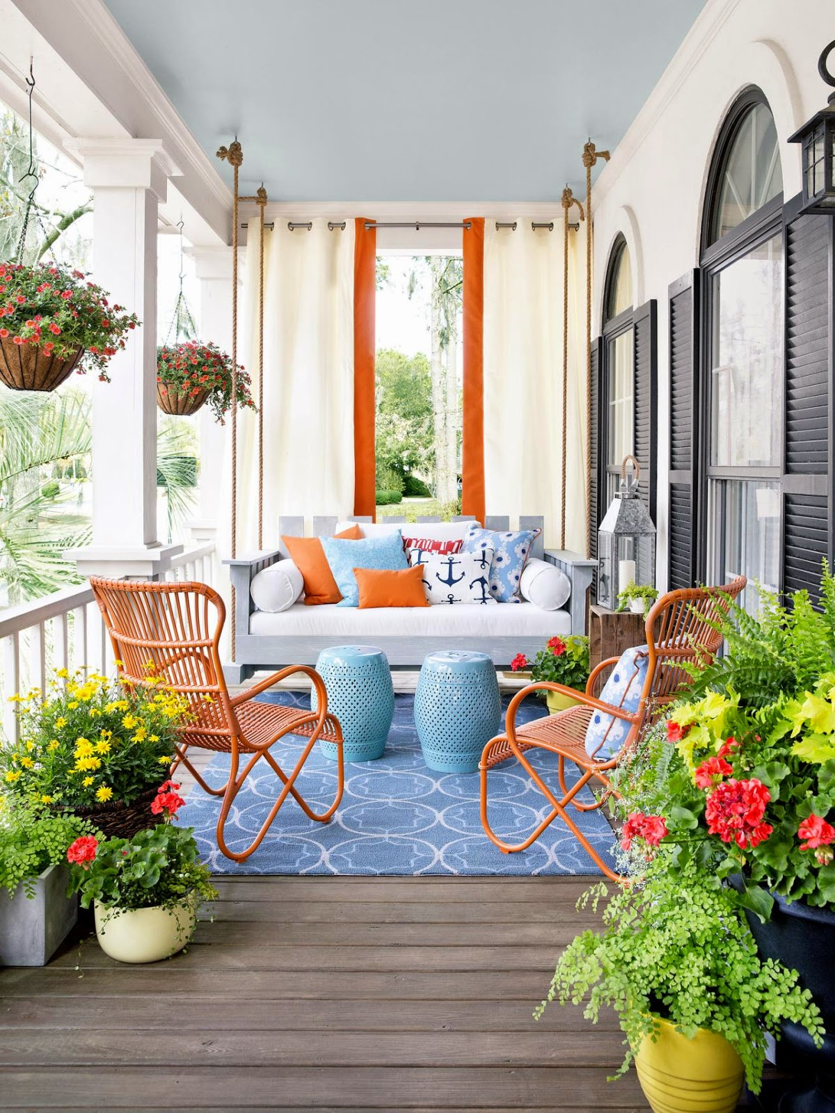 30 Best Porch Decoration Ideas and Designs for 2021