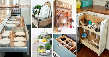 45+ Best Kitchen Organization Ideas and Tips for 2021