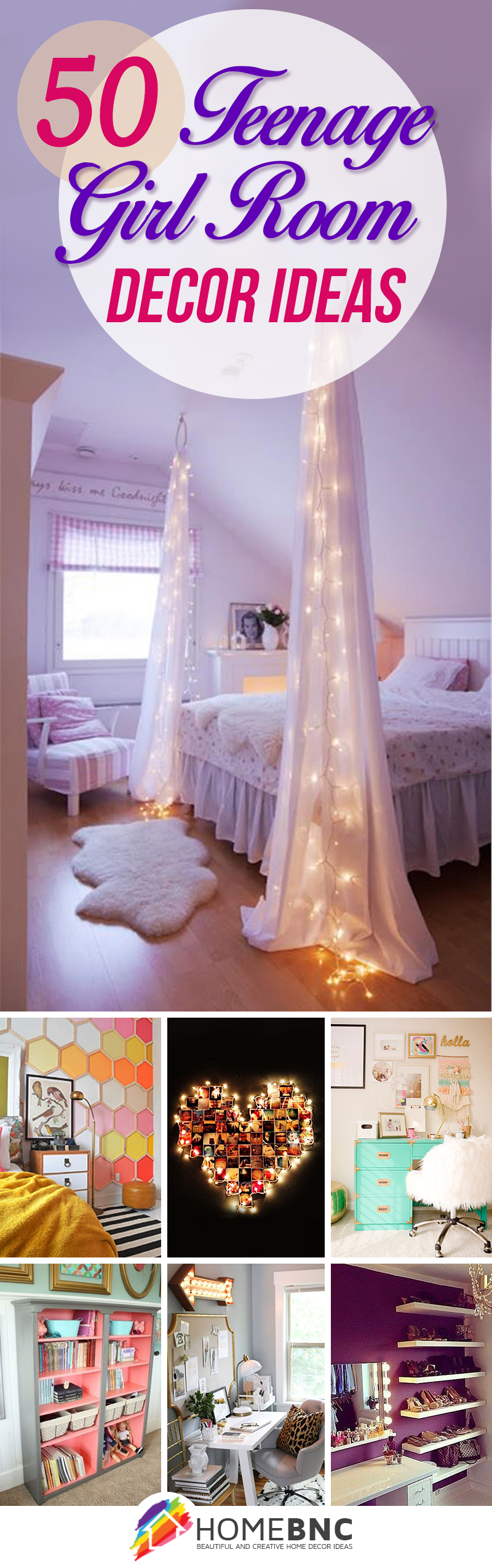 50 Stunning Ideas For A Teen Girl S Bedroom For 2020